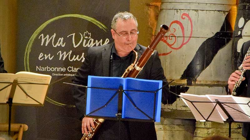 Gilbert Audin Ma Vigne en Musique
