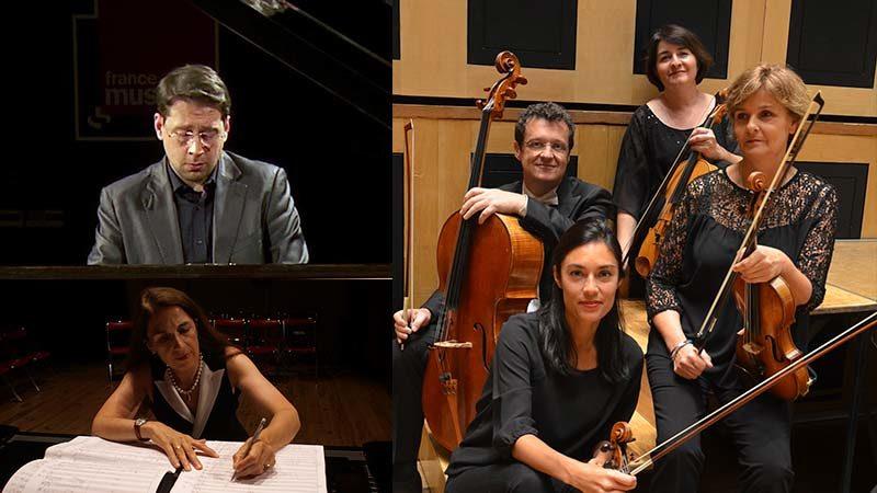 Les Solistes du Capitole - Audrey LOUPI, Sylvie VIVIES, Juliette GIL, Pierre GIL et Cyril GUILLOTIN