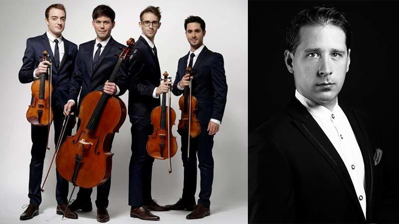 Sur la Corde - Quatuor Yako et Cyril Guillotin