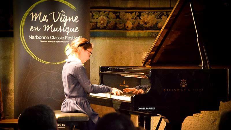 Hannah Villanou Ma Vigne en Musique