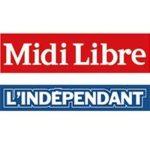 Midi Libre Indépendant Logo